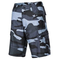 US Bermuda shorts, BDU, skyblue, cargopockets XS