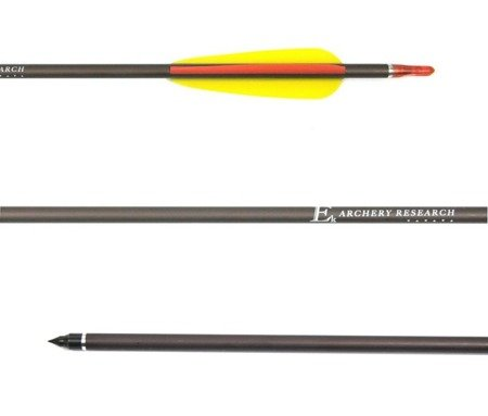 "Ek Archery aluminium arrow 2117 30"" brown"