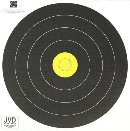 FIELD Paper Target Face 40 cm