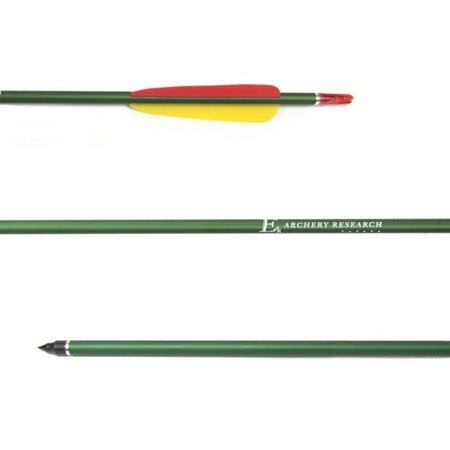 "Ek Archery aluminium arrow 2118 30"" green"
