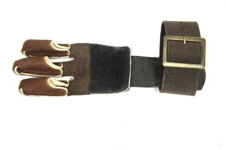Glove for archery Herbis 4 - With hair, Buckle closure