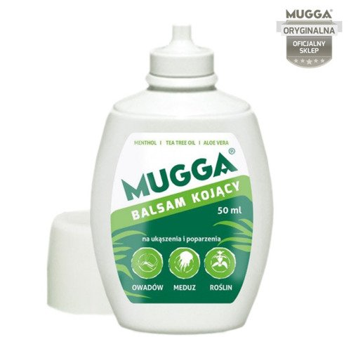 MUGGA Smoothing Balm for Mosquito Bites 50 ml