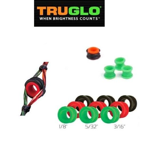 Peep Sight TruGlo Versa Black/Green/Red