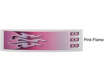 Aufkleber Easton Pink Flame 7""